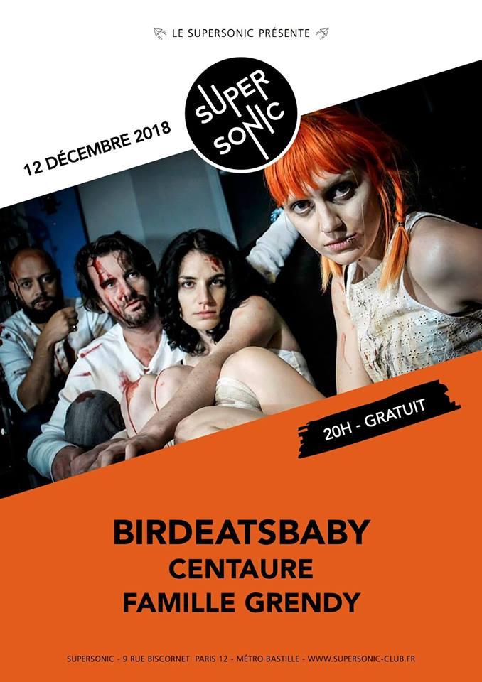 Birdeatsbaby • Centaure • Famille Grendy