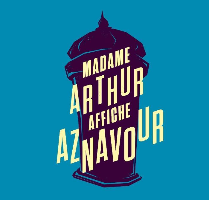 Madame Arthur affiche Aznavour